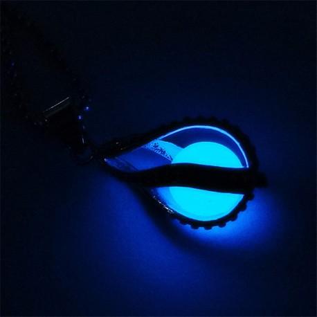Collier Larme de Sirène bleue