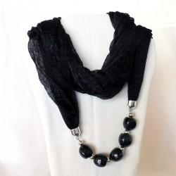 écharpe noir